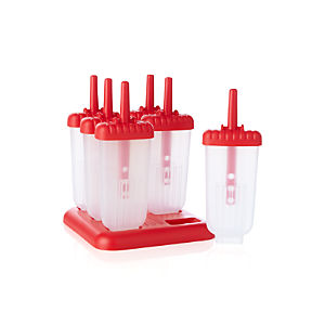 Set of 6 Ice Pop Molds