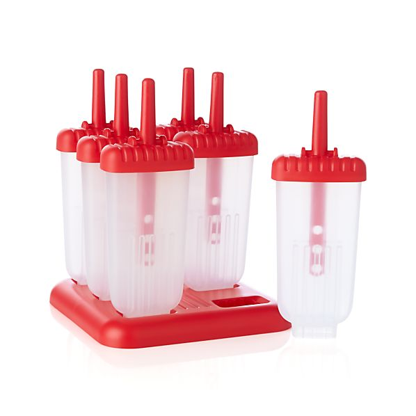 Ice Pop Molds Set of Six