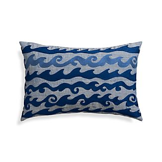 "Wave 20""x13"" Pillow"