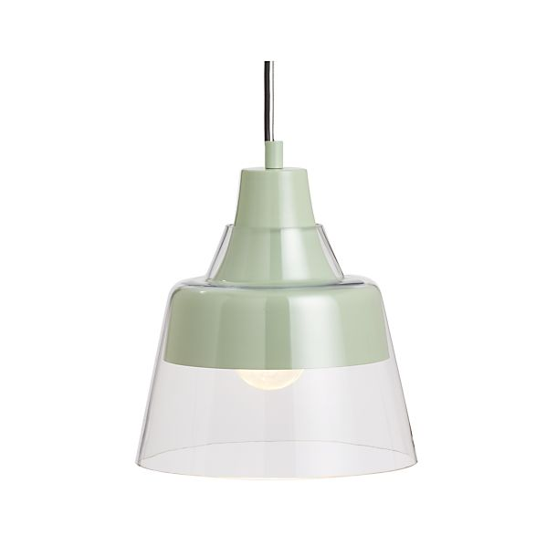 Webster Mint Pendant Lamp
