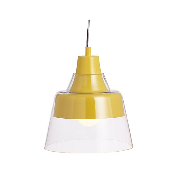 Webster Yellow Pendant Lamp