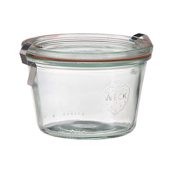 Weck 10 oz. Canning Jar | Crate and Barrel