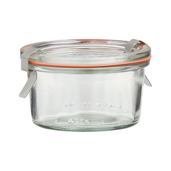 Weck 5.6 oz. Canning Jar