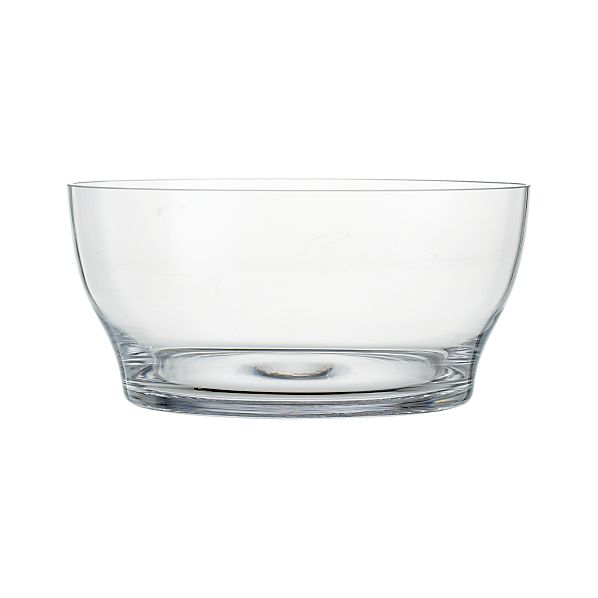 "Welcome 11.25"" Glass Bowl"