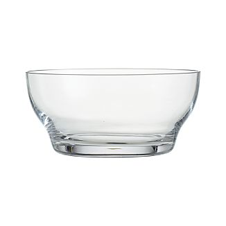 "Welcome 5.75"" Glass Bowl"