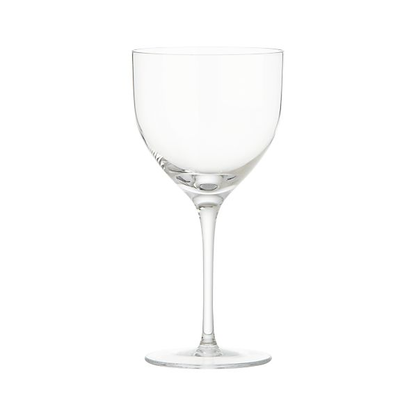 Welcome Red Wine Glass