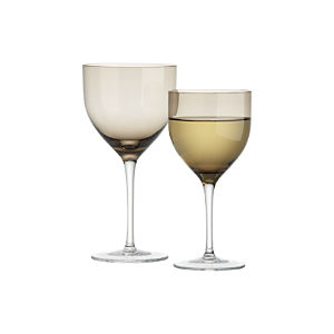 Welcome Grey Wine Glasses