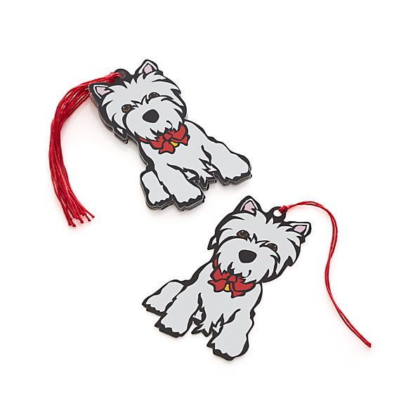Westie Gift Tags