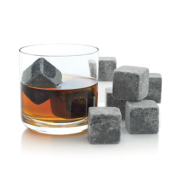 Set of 8 Large Whiskey Rocks
