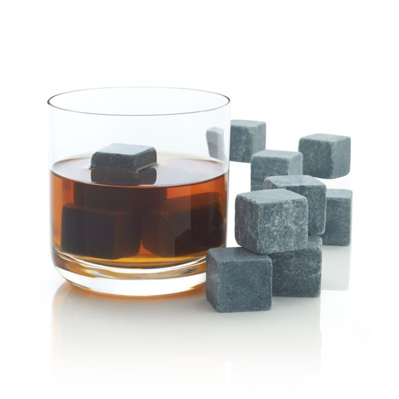 Set of 12 Small Whiskey Rocks