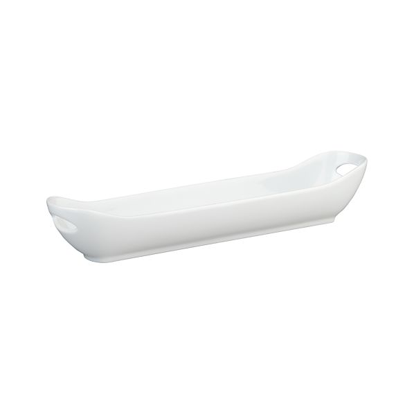 Large White Appetizer Dish