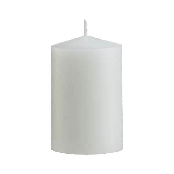 "White 2""x3"" Pillar Candle"