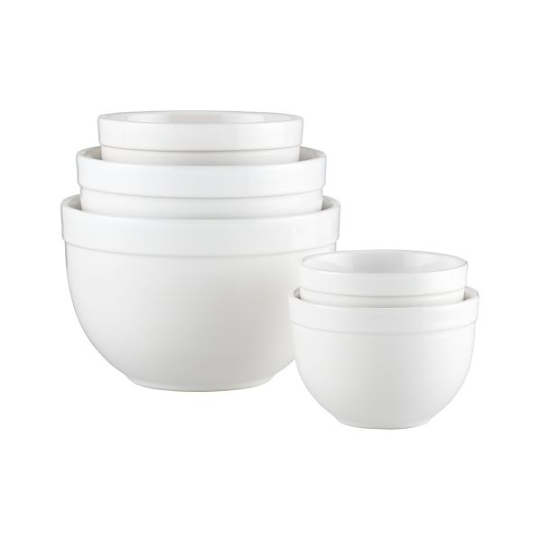 "Sale alerts for Crate&Barrel 5-Piece 5.5""-9.75"" Nesting Mixing Bowl Set - Covvet"
