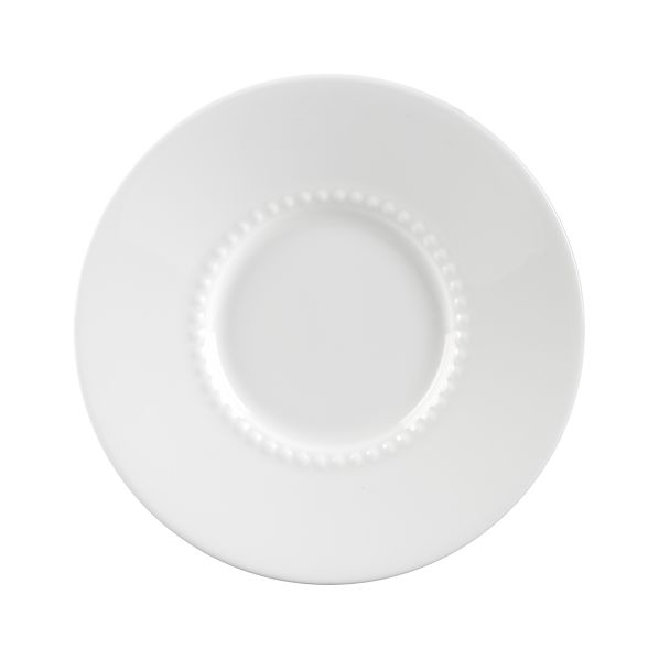 White Pearl Saucer
