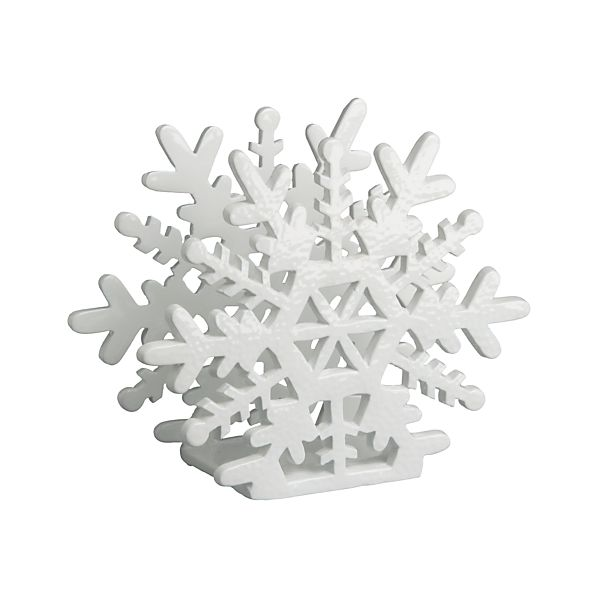 Snowflake Napkin Holder