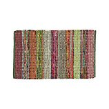 "Wide Stripe Multi 30""x50"" Rag Rug"