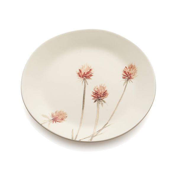 Wildflower Thistle Plate