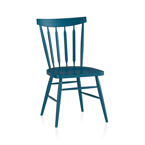 Willa Peacock Side Chair
