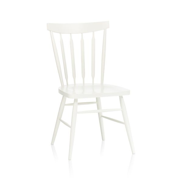 Willa White Side Chair