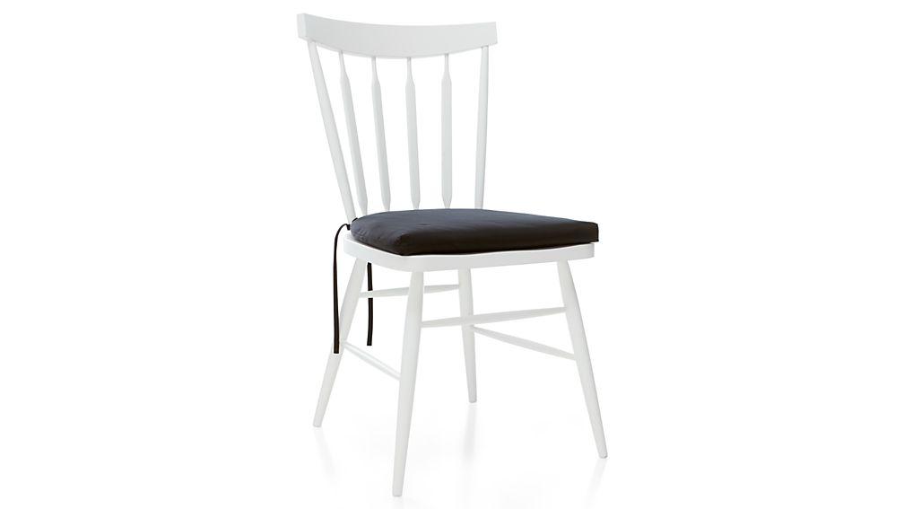 Willa White Side Chair