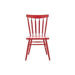 Willa Red Side Chair