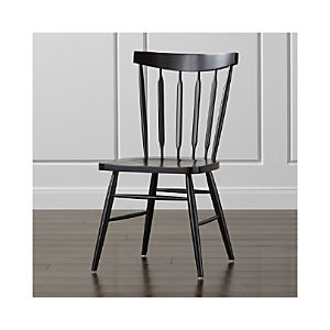 Willa Black Side Chair