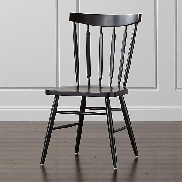 Willa Black Side Chair