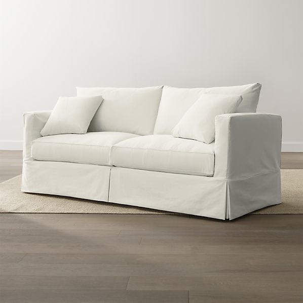 Slipcover Only For Willow Sofa Snow Crate And Barrel