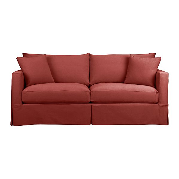 Willow Sofa Sienna Crate And Barrel
