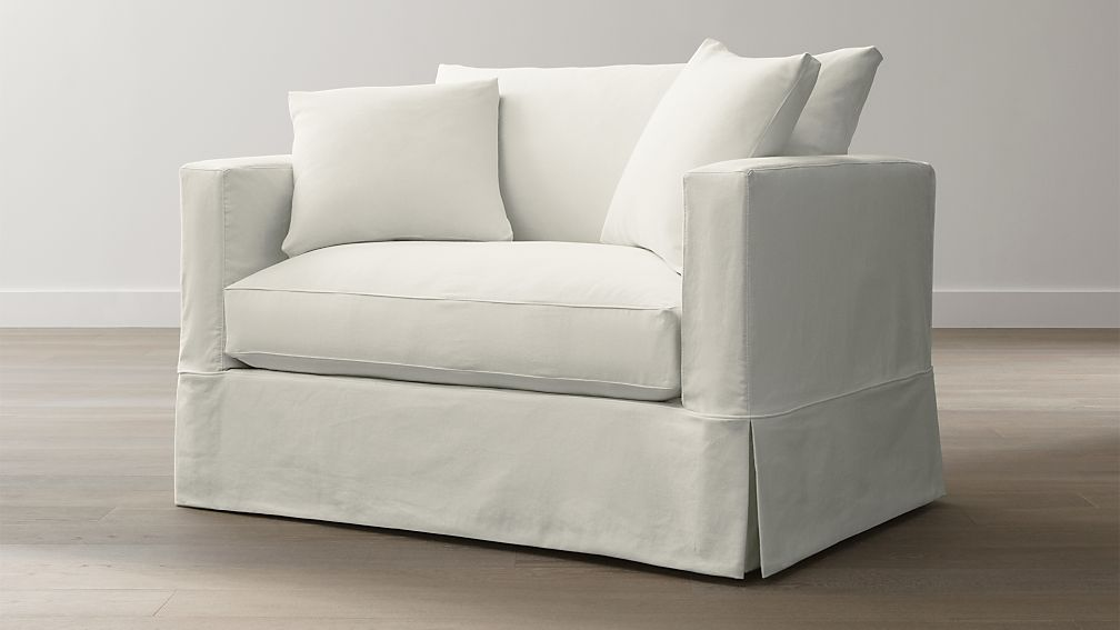 Willow Twin Sleeper Sofa Snow