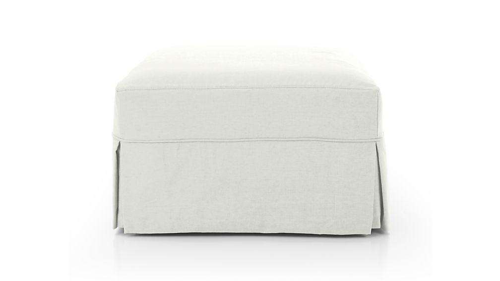 Willow Storage Ottoman with Casters