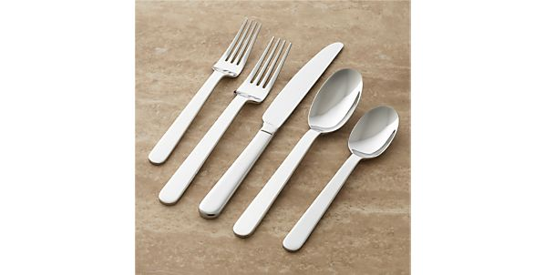 Flatware Patterns: Stainless Steel: Top Rated | Crate and Barrel