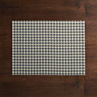 Chilewich® Windowpane Grey Placemat.