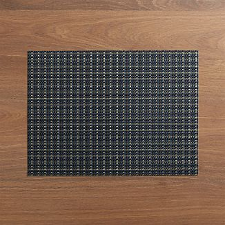 Chilewich ® Windowpane Blue Placemat