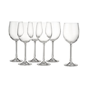 Wine Glasses Set of Six