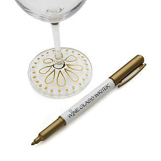 Gold Wine Glass Writer