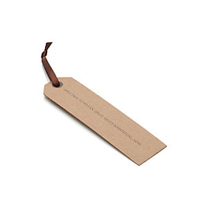 Toast Wine Tag