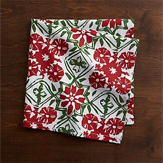 Winter Flower Napkin