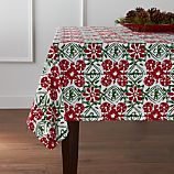 "Winter Flower 60""x90"" Tablecloth"