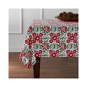 Winter Flower Tablecloth