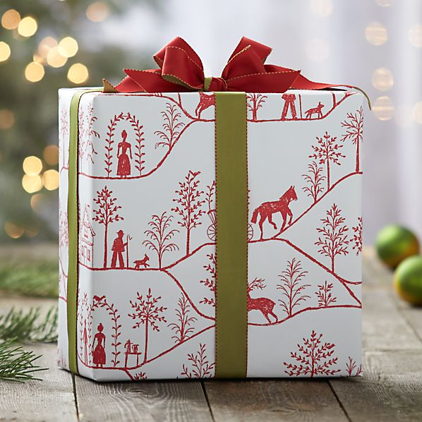Winter Village Gift Wrap