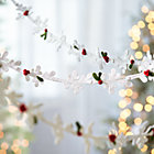 Winter White Felt Mistletoe Garland.
