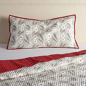 Winterberry King Sham