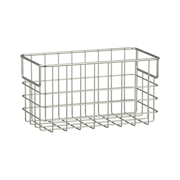 Wire Storage Baskets. Showing 40 of results that match your query. Search Product Result. Product - Better Homes and Gardens Lined Chicken Wire Storage Basket with Dividers, Bronze Finish InterDesign Classico Open Wire Small Storage Basket, Matte Satin. Add To Cart. There is a problem adding to cart. Please try again.
