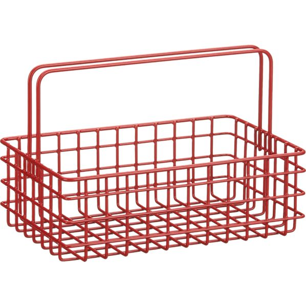 Red Wire Caddy