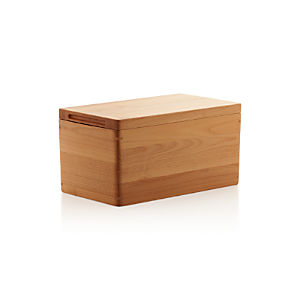 Wood Bread Box