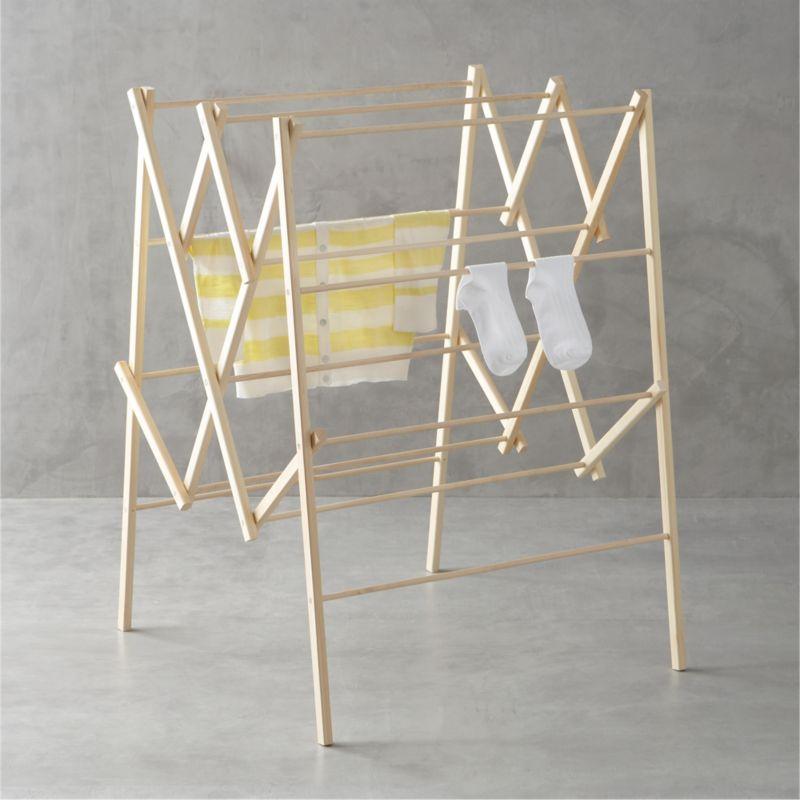 Large wood drying rack