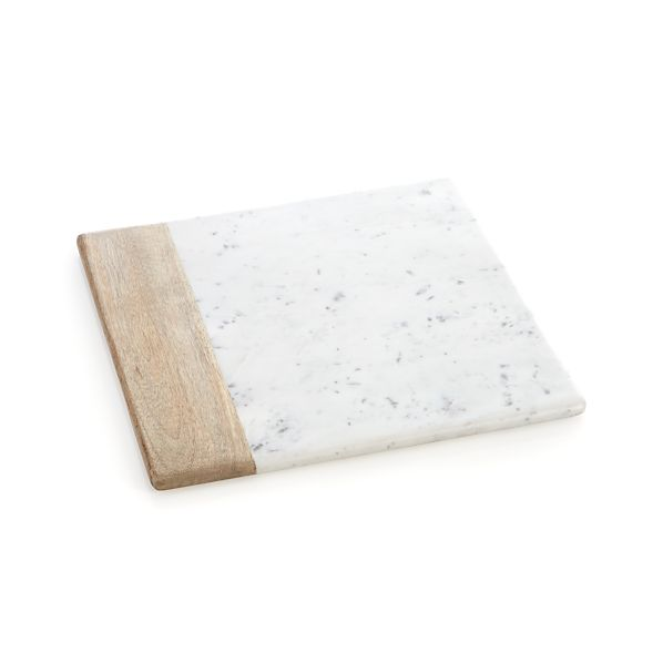 WoodMarbleSqrPlatterS14