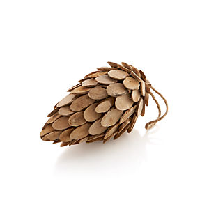Wood Medium Pinecone