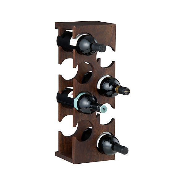 Woodinville 8-Bottle Wine Rack